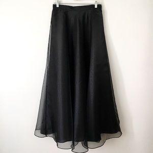 Dress Barn   Black Ball Gown Skirt